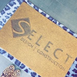 Personalized Faux Coir (Custom)