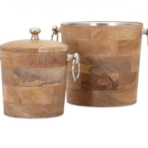 Set Of 2 Bar Buckets