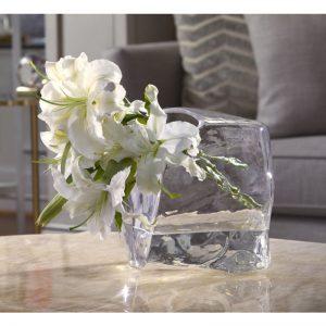 Cube Glass Vase
