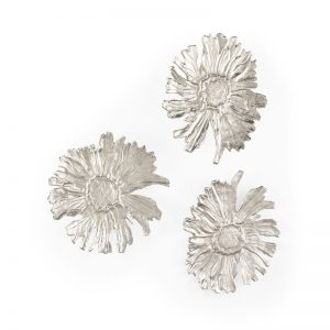 Daisy Wall Relief (Set Of 3)