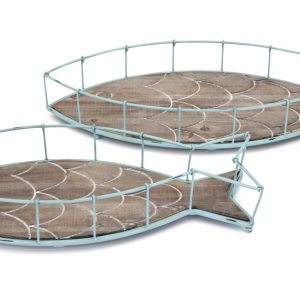 Set Of Fish Trays